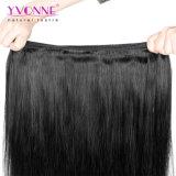 Tessuto diritto naturale brasiliano dei capelli del Virgin del grado 5A 100%