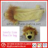 Sacchetto bello di Pencial del giocattolo del leone della peluche per il regalo