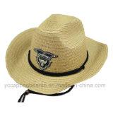 Moda Cheap Wholesale Men Hats Chapéu de palha de cowboy de papel