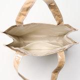 PVC transparente de papel Kraft bolso Cierre de apertura (K002)