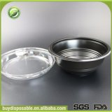 Contenitore di alimento di plastica a gettare di Microwavable di formati differenti