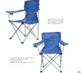 Loisirs extérieurs pliant le fauteuil campant portatif