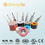 Коаксиальные кабели цифров как Rg58/Rg59/Rg59bu/RG6/Rg11/Rg174
