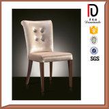 Cadeiras francesas da sala de jantar da recolocação da alta qualidade do estilo do frame de prata do metal