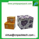 Serviceable напечатанная таможней коробка подарка бумаги картона шлема твердая