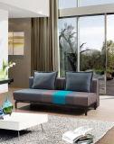 Sofa de dormeur de tissu Cum le bâti pour le sofa de salle de séjour