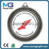 Hochwertige kundenspezifische Sport-Metallpreis-Medaille des Entwurfs-3D mit antikem Überzug