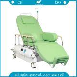 AG Xd207 Ce&ISO 승인되는 전기 혈액 수집 투석 의자