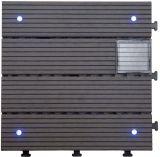 실내 장식 형식 디자인 WPC 태양 가벼운 갑판 지면 도와
