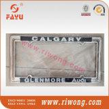 Blocchi per grafici su ordinazione di vibrazione della targa di immatricolazione di marchio dell'autoadesivo di colore d'argento del metallo