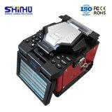 Schmelzverfahrens-Filmklebepresse Maquinafusionadora De Fibra Optica X-97
