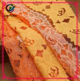Ткань платья шнурка высокого качества французская