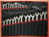 gute Qualitäts26pcs Combiantion Schlüssel eingestellt in Walzen-Beutel (FY10262)