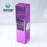 Чувствительная пурпуровая коробка бумаги печатание упаковывая (для шампуня)