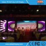 전시를 광고하는 고품질 P4 실내 임대료 LED 스크린 게시판