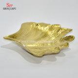 Seule forme, plaque en céramique Electroplated/assiettes de serpent/assiettes marchandises sèches