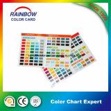 Carte de couleur Pantone promotionnelle pour peinture à base d'huile
