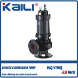 WQ No-estorban la bomba de aguas residuales sumergible eléctrica (WQ10-10-0.75)