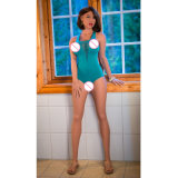 Куклы секса силикона в натуральную величину эротичной влюбленности Vagina 5 дюймов пластичные на люди 170cm