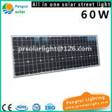 60W LED 태양 운동 측정기 에너지 절약 옥외 정원 가로등