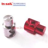 CNC que faz à máquina as peças de alumínio feitas sob encomenda (M0001)