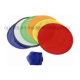 Custom Cheap Give Away Polyester Foldable Fabric Frisbee