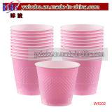 Группа питания розового цвета пластиковых чашек 20Кт продукты сторонних производителей (W1002)