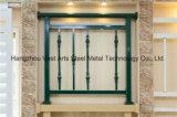 Barandilla de acero galvanizada decorativa de alta calidad 39 del balcón de la aleación de Haohan Alluminum