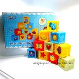Juguetes educativos creativos traje bloques de construcción juguetes