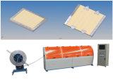 Machine en acier de piste de fabrication de cartons de contre-plaqué d'Aucun-Clou