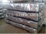 Perfil revestido do revestimento do zinco/folha de aço da telhadura do ferro