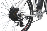 "27.5 "" bicicleta elétrica branca da cor MTB"