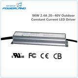 driver costante esterno Rainproof della corrente LED di 96W 2.4A 20~40V