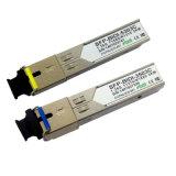 1,25 g de fibra óptica simple Bidi Wdm SFP Transceptores de Fibra Óptica (1GMBDSC)