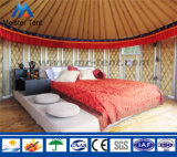방수 화포 가족 살아있는 대나무 몽고 Yurt 천막