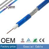 Câble coaxial de liaison de la télévision en circuit fermé Rg59 de prix usine de Sipu fabriqué en Chine
