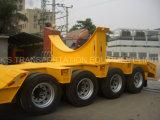 4つの車軸Lowbedのトレーラー22m 120トン