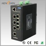 8 haven met Schakelaar van Netwerk 2 Gigabit SFP Beheerde Ethernet