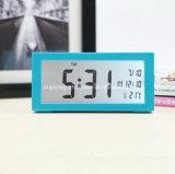 무언 침대 곁 달력 전자 디지털 자명종