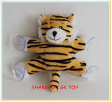 Small Gift Plush Tiger with Suction Cup