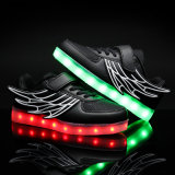 Wings of Light Shoes Chaussures USB Chaussures enfants Winter Boys & Girls Charging Lamp Luminous LED avec des chaussures légères
