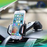 Suporte da montagem do carro do suporte do telefone de pilha de uma rotação de 360 graus com otário pegajoso