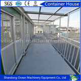 Casa modular del envase de la larga vida soportable de la estructura de acero ligera
