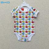 Short Sleeve Baby Wear Envelope-Neck Baby Bodysuit