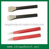 Piano dello scalpello e scalpello freddo del punto con la pinsa di plastica della mano