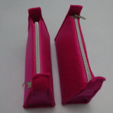 La Chine l'importation directe de personnaliser Pattern cosmétique feutre sacs pour dames