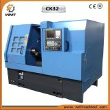 Ck32 중국 기우는 침대 CNC 선반 기계장치