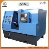 Maquinaria inclinada do torno do CNC da base Ck32