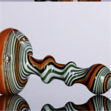 Mini cores misturadas de vidro coloridas por atacado das tubulações de tabaco das tubulações