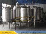 3000 litros S. S 316 recipientes de acero inoxidable Reactor tanque de reacción